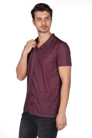 MARKAPIA MAN - Markapia Short Sleeve Men's Shirt  (1)