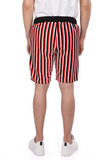 Мужские шорты вполоску Markapia - Thumbnail
