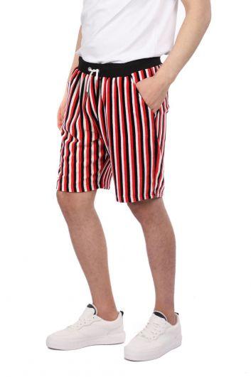Markapia StripedMen's Shorts - Thumbnail