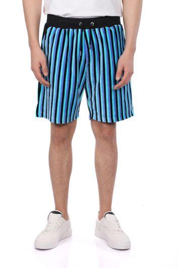 Мужские шорты в полоску Markapia - Thumbnail