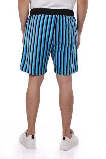 Markapia Striped Men's Shorts - Thumbnail