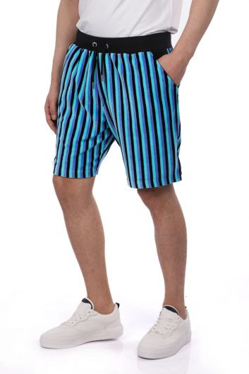 MARKAPIA MAN - Markapia Striped Men's Shorts (1)