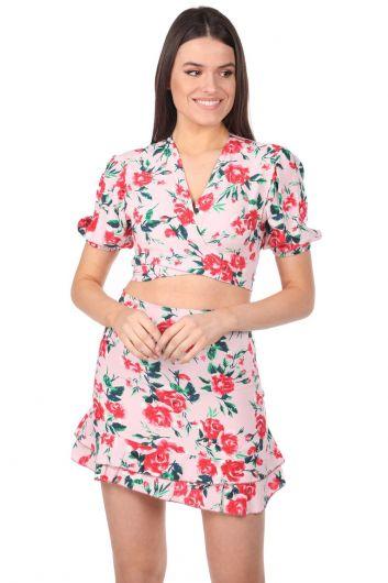 بدلة ماركابيا بنمط زهور - Thumbnail