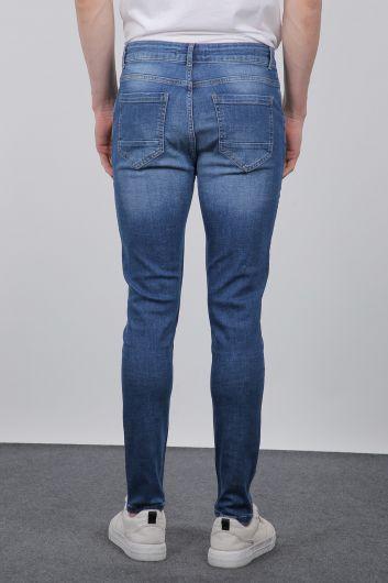 Mavi Slim Fit Erkek Jean Pantolon - Thumbnail