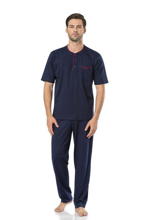 Pierre Cardin Men's Combed Cotton Pajamas