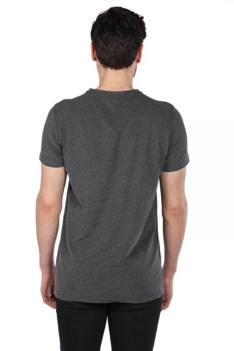 Men's Regular Fit Crew Neck T-Shirt