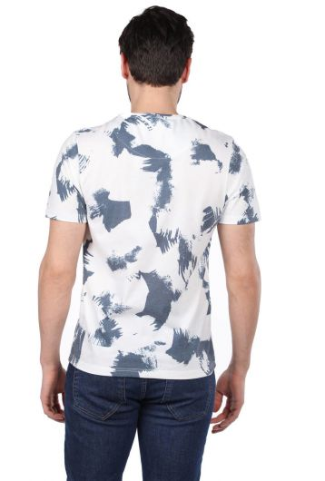 Spotted Men's Crew Neck T-Shirt - Thumbnail