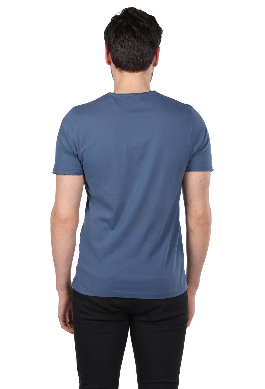 Мужская футболка с круглым вырезом и микрофоном с принтом