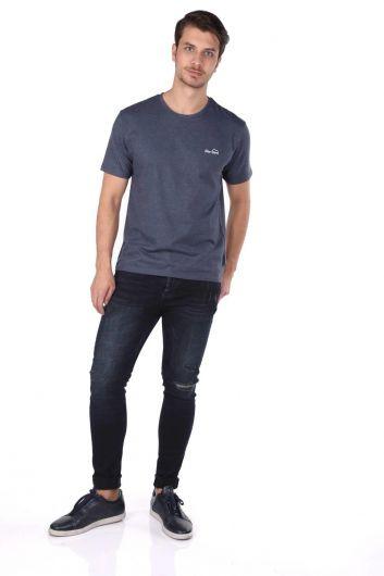 Men's Crew Neck T-Shirt - Thumbnail