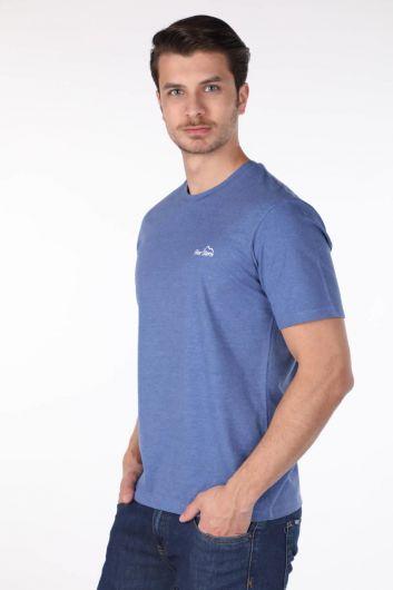 MARKAPIA - Мужская футболка с круглым вырезом (1)