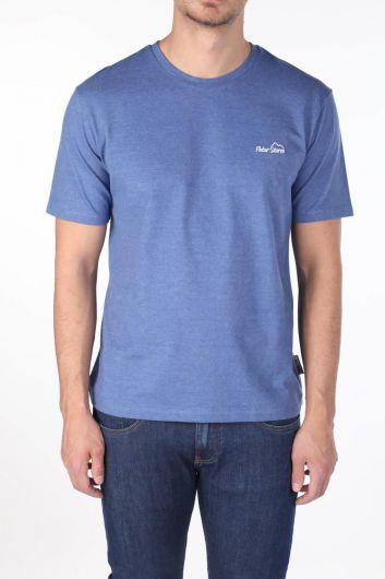 Мужская футболка с круглым вырезом - Thumbnail