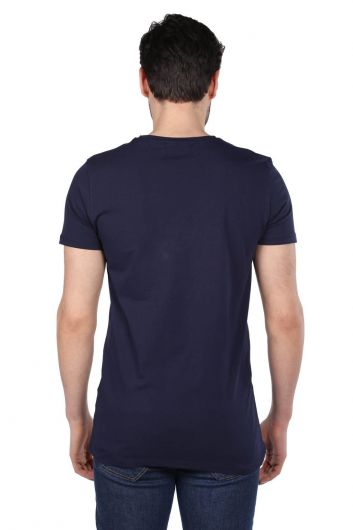 Men's Regular Fit Crew Neck T-Shirt - Thumbnail