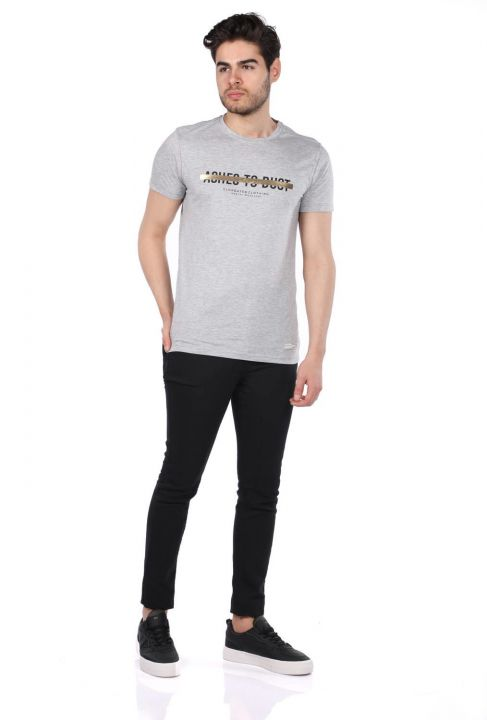 Men's Regular Fit Crew Neck T-Shirt