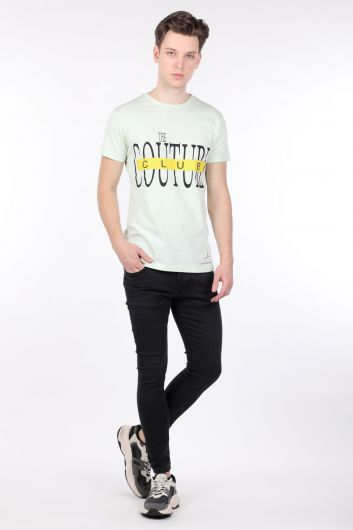 Men's Anthracite Skinny Jeans - Thumbnail