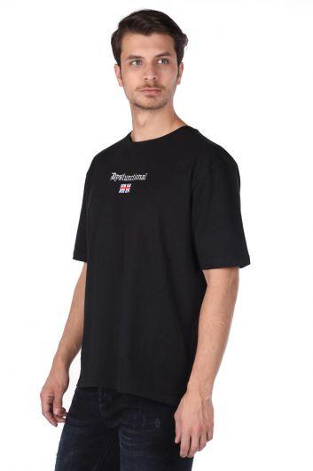 MARKAPIA - Мужская базовая футболка с круглым вырезом (1)