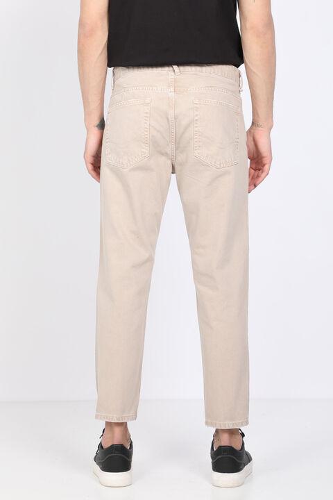 بنطلون جينز بيج متوسط الخصر للرجال