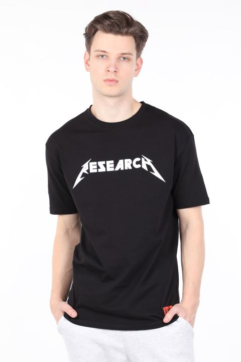 Men's Black Crew Neck T-shirt
