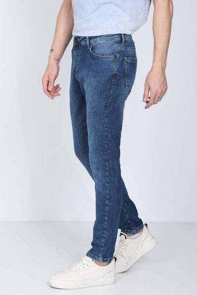 Banny Jeans - Men's Blue Straight Fit Jeans (1)