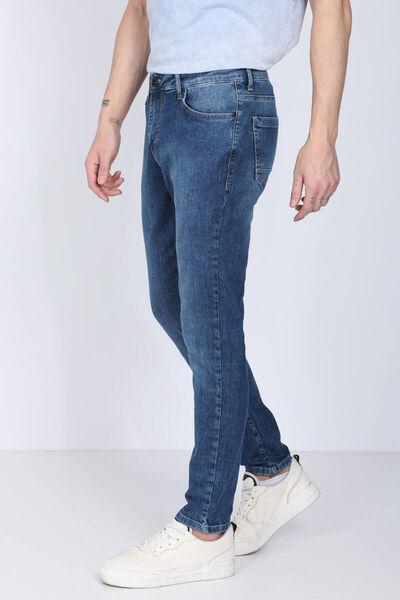 Banny Jeans - Мужские синие джинсы прямого кроя (1)