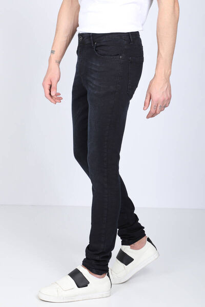 Banny Jeans - بنطلون جينز رجالي بقصة مستقيمة كحلي غامق (1)