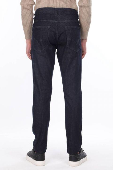 Men's Dark Regular Fit Jeans