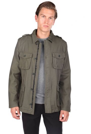 MARKAPIA MAN - Мужская прямая куртка с карманом для судьи и карманом (1)