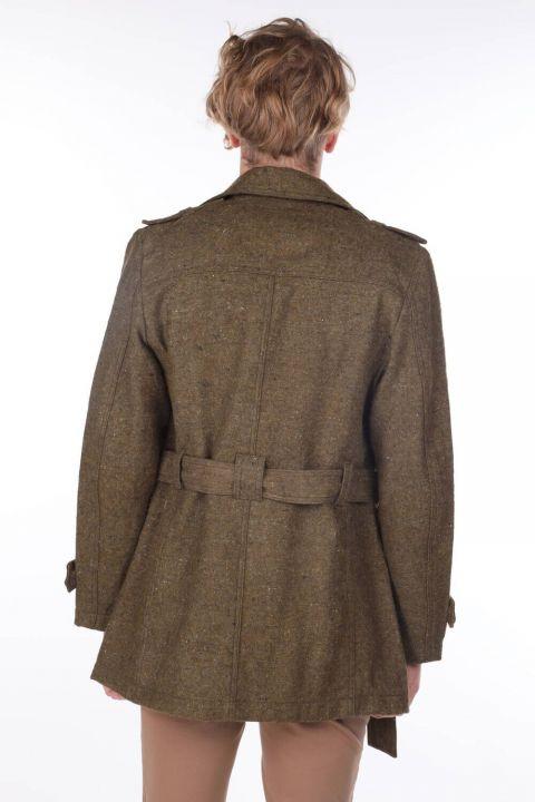 Flecked Pocket Detailed Men's Jacket