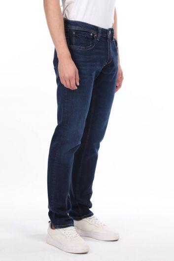 MARKAPIA MAN - بنطلون جينز رجالي بقصة واسعة خفيفة (1)