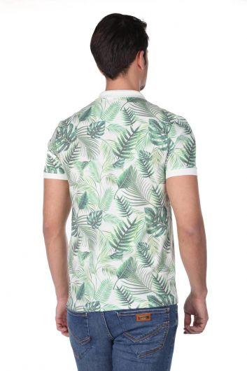 Men's Polo Neck T-Shirt - Thumbnail