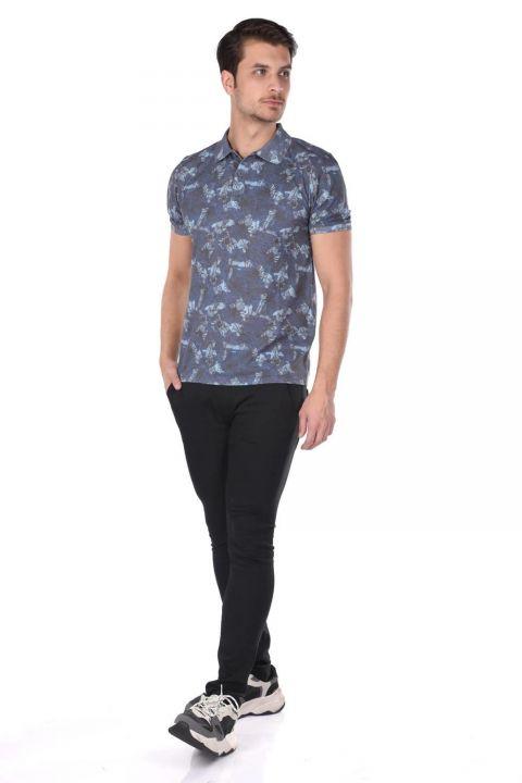 Men's Polo Neck T-Shirt