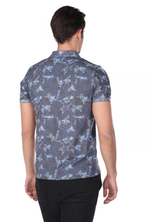 Мужская футболка с воротником-поло