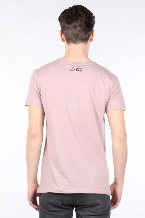 Men's Powder Couture Printed Crew Neck T-shirt