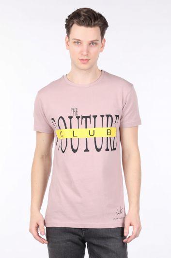 COUTURE - Мужская футболка с круглым вырезом и принтом Powder Couture (1)