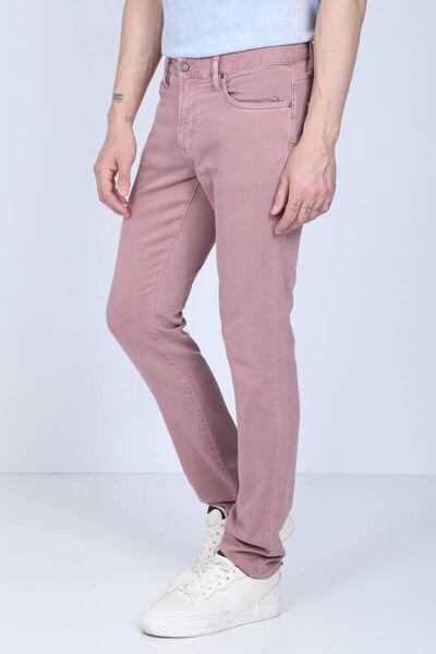 BLUE WHITE - Мужские джинсовые брюки комфортной посадки Dried Rose (1)