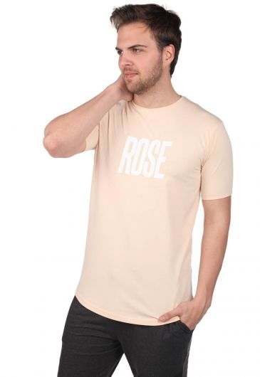 ROSE LONDON - Men's Rose Short Sleeve Crew Neck T-Shirt (1)