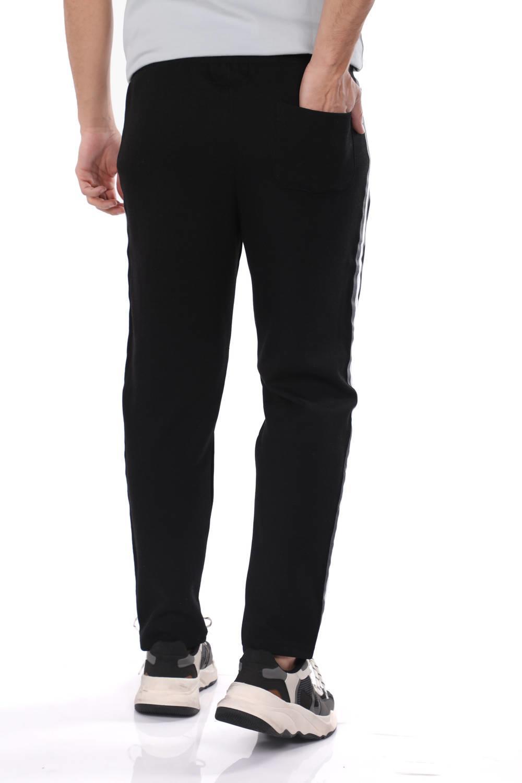 Мужские прямые спортивные брюки с полосками по бокам