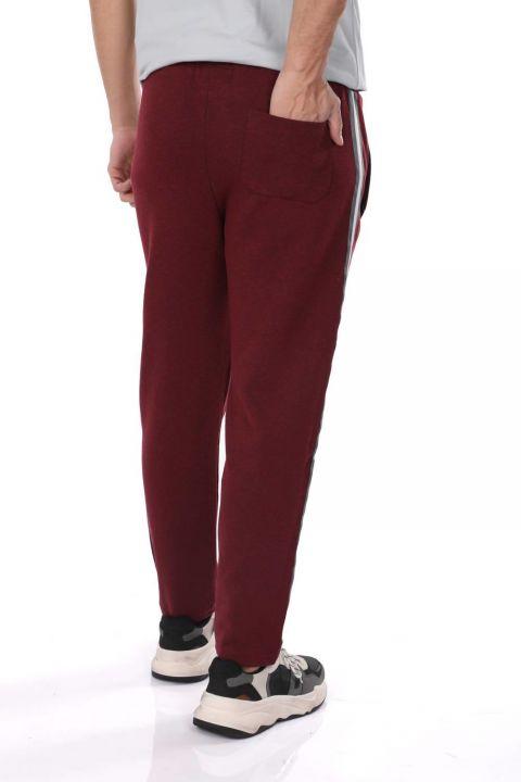 Men's Side Stripe Straight Sweatpants