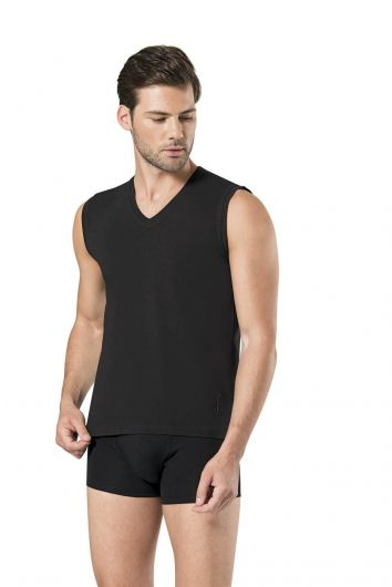 Pierre Cardin Men's Sleeveless V-Neck Athlete - Thumbnail