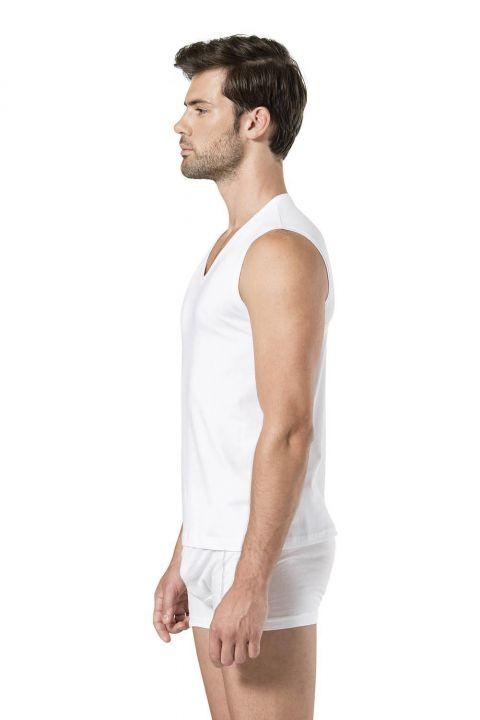 Мужской спортсмен Pierre Cardin с V-образным вырезом без рукавов