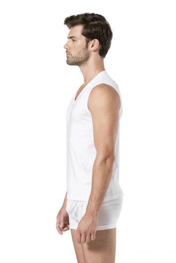 Pierre Cardin Men's Sleeveless V-Neck Athlete - Thumbnail