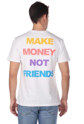 Men's Crew Neck Stony T-Shirt - Thumbnail
