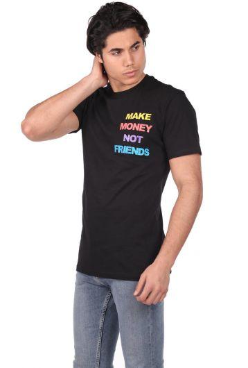 Мужская футболка Stony с круглым вырезом - Thumbnail