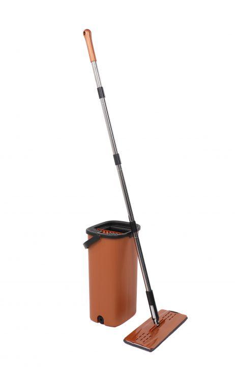 Microfiber Flat Mop Cleaning Set