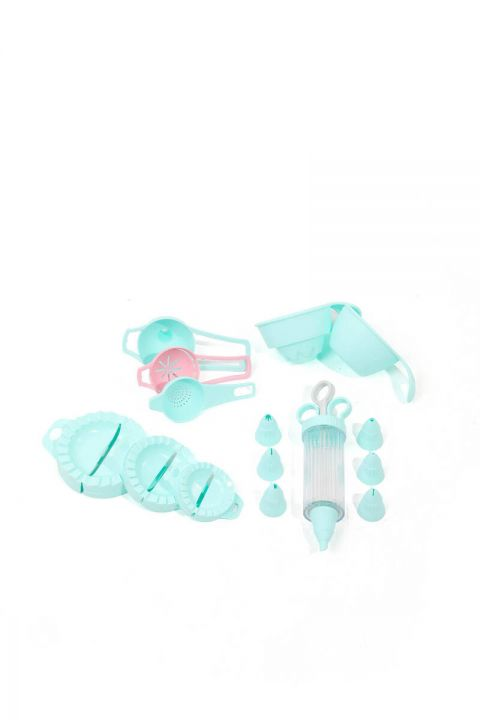 Mint 4 Piece Cake Set