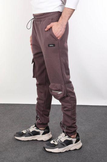 MARKAPIA - Мужской спортивный костюм с застежкой-молнией и карманом (1)