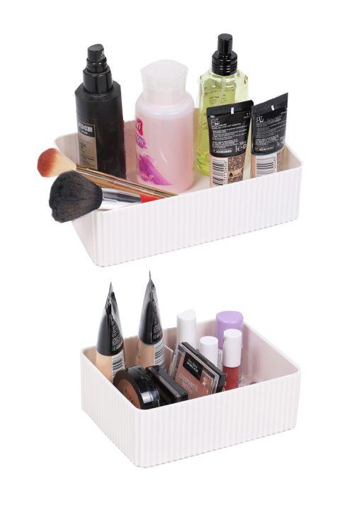 طقم صندوق منظم متعدد الأغراض 2 قطعة