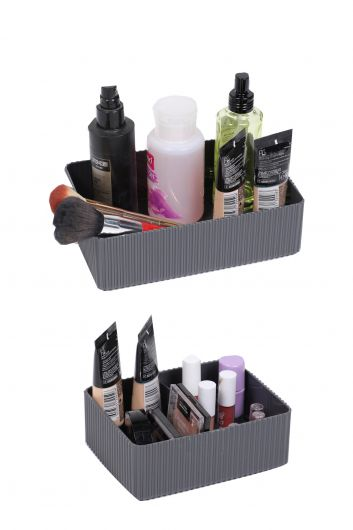 Multi Purpose Organizer Box Set 2 Pieces - Thumbnail