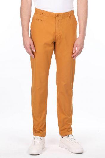 Mustard Men's Chino Pants - Thumbnail