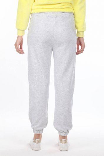 Nasa Printed Elastic Women's Trousers - Thumbnail