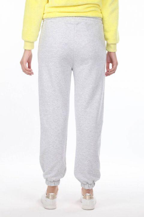 Nasa Printed Elastic Women's Trousers